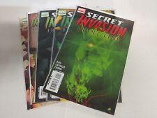 Fantastic Four Comic Lot Secret Invasion Front Line 1 2 3 4 5 NM Bagged Boarded