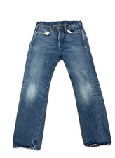 Levis 501xx Big E Redline Salvedge Jeans Size 32 X 32