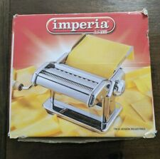 Imperia Pasta Maker Machine dal 1932 - Heavy Duty Steel Made Italy ~ Cherry Red