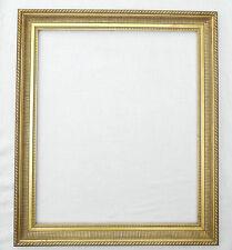 (PRL) CORNICE CORNICI QUADRO QUADRI LEGNO ORO GOLD FRAME 60 X 70 cm 60x70 CADRE