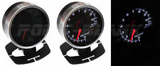 60mm Electronic 3 BAR Boost Gauge - White Backlit Defi/JDM Style