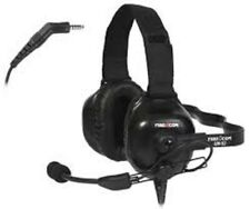 LOT OF 2 NEW IN BOX FIRECOM UH-52 UNDER HELMET WIRED HEADSETS. P/N UH-52
