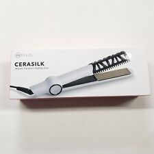 Instyler CERASILK 1-Inch Woven Ceramic Styling Iron White