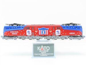 N Scale Kato 137-2015 CR Conrail Bicentennial GG1 Electric Locomotive #4800
