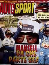 Rombo 41 1994 Mansell non fà gioco di squadra Damon Hill Schumacher  [R2]