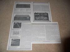 Soundcraftsmen Sp 4001 Preamplificador / Eq Revisión,4 Pg ,1980 ,Completo Tests