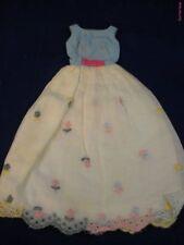 Vintage Barbie ModFrancie First Formal #1260 Dress N/M