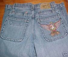 JNCO Mexican designer jeans denim embroidered tatoo