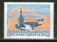 TIMBRE 3557 NEUF XX LUXE - PORTE-AVIONS CHARLES DE GAULLE