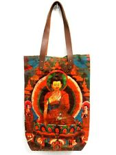 BT 01 ASIAN SHOULDER BAG SAVE EARTH BUDDHA HANDBAG NEPAL TEMPLE MEDITATION INDIA