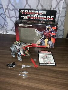 1984 Hasbro Transformers G1 Dinobot  Slag With Box Tight joints