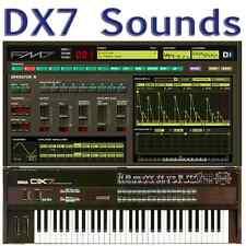Yamaha DX7 DX5 DX7II DX200 TX7 TX802 TX816 + FM7 FM8 Largest Sound Collection