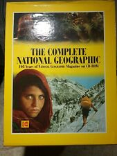The Complete National Geographic - 108 Years Of National Geo Magazine On Cd-Rom