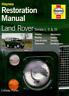 Restore Land Rover Series 1 2 3 Book Haynes Manual Restoration Workshop Repair