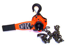 3/4 ton Lever Block Chain Hoist Come Along Ratchet type Lift and Puller Tools