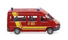 Pompier Autobus de MB Sprinter Wiking 060126 échelle H0 1:87 Maquette de voiture