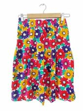 Rayon A-Line Knee-Length Floral Skirts for Women
