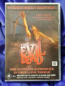 THE EVIL DEAD DVD WIDESCREEN EDIITON Sam Raimi 1982