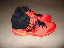 New Men's Sz 17 Nike Kyrie 2 Irving Inferno Crimson Orange Black 819583-680 RARE