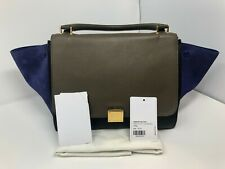 Céline Tricolor Medium Trapeze Bag