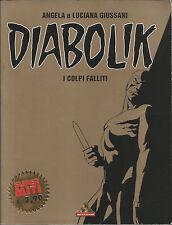 DIABOLIK - I COLPI FALLITI - SUPER MITI - n. 49 -fumetto noir