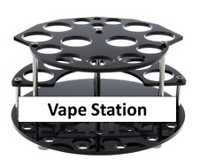 Vape Station Acrylic 3 Layer 32 Hole Vapor Stand A tomizer Mod e cig Drip Tip