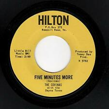 VIRGINIA DOOWOP/EARLY SOUL-COVINAS-HILTON 3752-FIVE MINUTES MORE/THANKS FOR THE