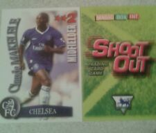 SHOOT OUT CARD 2003/04 (03/04) - Green Back - Chelsea - Claude Makelele