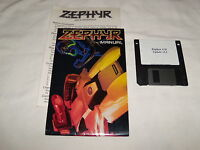 Zephyr (PC, 1995) 3.5 floppy disk with manual