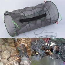 Crab Crayfish Lobster Catcher Pot Trap Fish Net Eel Prawn Shrimp Live Bait # W