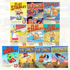 Flat Stanley Series Collection 10 Books Set Pack NEW The Us Capital Commotion UK
