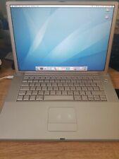 "Apple G4 Powerbook 15"" 1.67GHz with 32GB SSD & Mac OS 9.2.2"