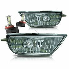 1998-2003 Toyota Sienna Fog Lights w/Wiring Kit & LED Bulbs - Clear