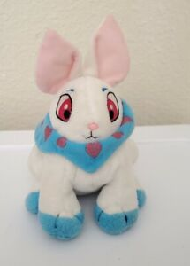 Neopets 2003 Vintage Blue Cybunny Bunny Rabbit Plush Limited