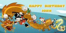 Birthday banner Personalized 4ft x2ft  DuckTales