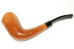 BARCLAY-REX UNSMOKED STACK FREEHAND PIPE W/ DOUBLE COMFORT STEM - PIPESTUD