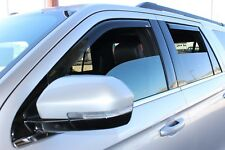In-Channel Wind Deflectors: 2018-2020 Ford Expedition