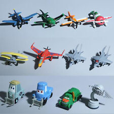 Lot of 12 Movie Planes Cars Dusty Skipper Dottie 3-6cm Doll Figures Kids Toy Set