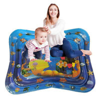 CW_ AB_ Inflatable Baby Water Mat Novelty Play for Kids Children Infants Tummy T