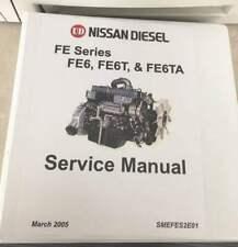 Nissan Diesel FE Series Engine Workshop Manual Models FE6-FE6T-FE6TA