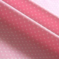 "POLKA DOT FABRIC 3mm 100% Cotton 45"" ROSE & HUBBLE Craft Spotty Dots Spots"