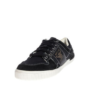 RRP €130 REPLAY DNM SUPPLY Sneakers EU 40 UK 6 US 7 Contrast Leather & Stitching