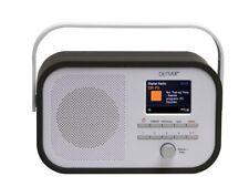 "RADIO FM/DAB+ AVEC ECRAN TFT 2,4"" DIAPORAMA DAB PRISE CASQUE PILES OU SECTEUR"