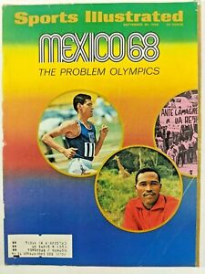 Sports Illustrated September 30 1968 Mexico Olympics NFL QBs Bob Gibson LSU PGA