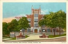 Alabama, AL, Florence, Admin Bld, State Teacher's College 1930's Postcard