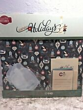 New Kiwi Lane Club December 2019 Happy Holiday Includes Templates Scrapbook Kit
