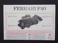 Pocher 1:8 Motor Bauanleitung Ferarri F40 K55 neu