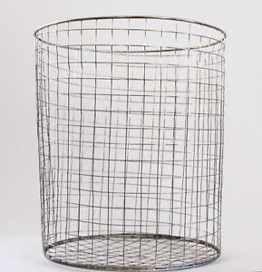Gophers Limited Stainless Steel Gopher Basket 5 Gallon Size/Case Quantity 12