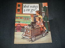 What makes a car go? 1957 Esso Standard Oil Company printed in USA