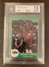 Michael Jordan 1985 Star Gatorade RC BGS Beckett 7.5 Sub 9 🔥🔥🔥 Bulls #7 HOF